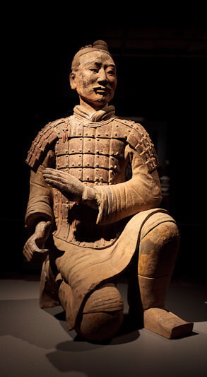 Terra Cotta Warriors at Houston Museum of Natural Science