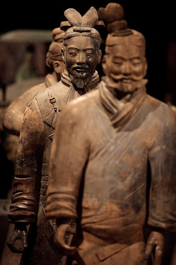 Terra Cotta Warriors at HMNS