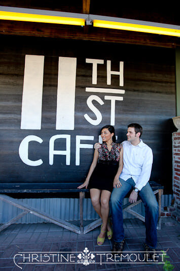 11th St Cafe - Tish & Brian