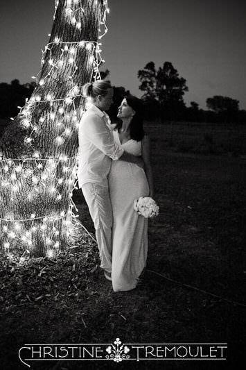 Janet & Kelli at the tree