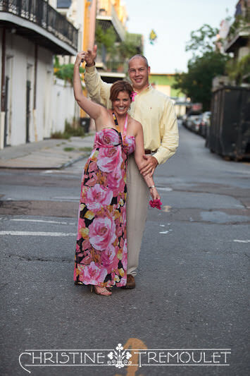Erin & Danny Dancing in the Streets New Orleans