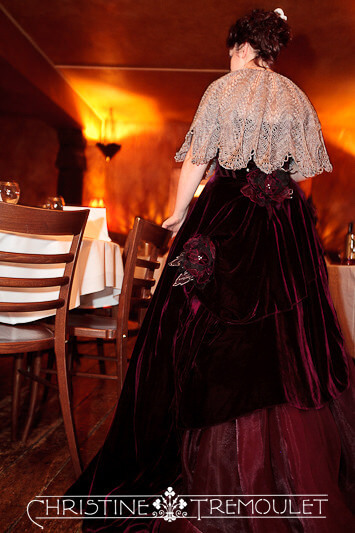 Ann Heading to the Ceremony at Byzantium Restaurant, Bristol UK