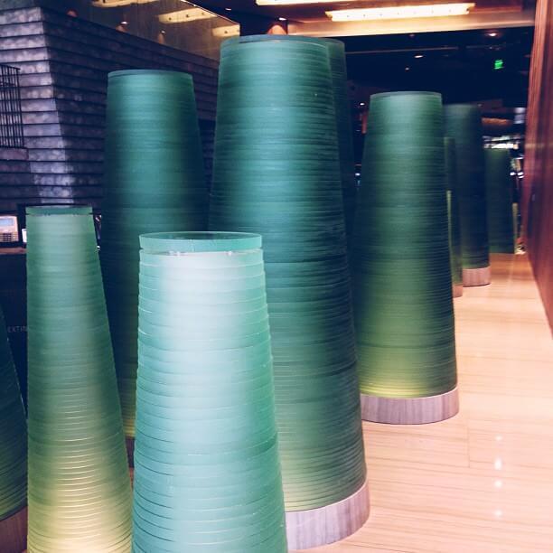 Las Vegas Hotel - Boudoir Tour - Glass Sculptures