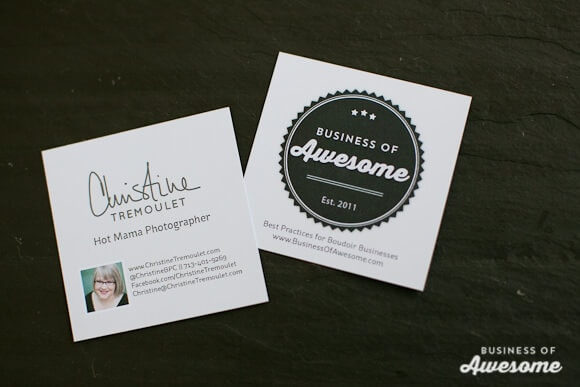 Business of Awesome Business Cards