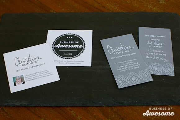 Business Cards for Conferences and Conventions