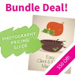 Moderntog Photography Pricing Guide + Easy Client & Money Manager