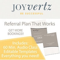 Joy Vertz - Referral Plan That Works