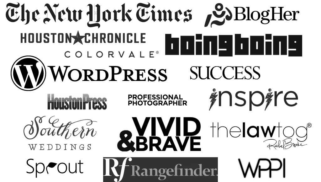 Media Logos - Where I have been seen.