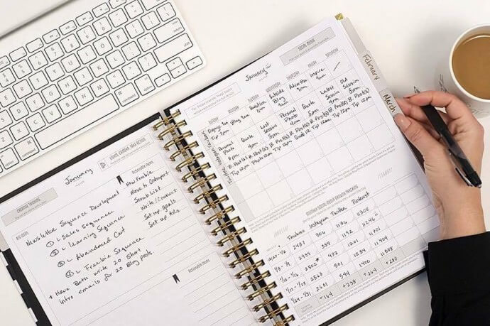 The Photographer's Planner - Social Media Tracking Review - http://christinetremoulet.com