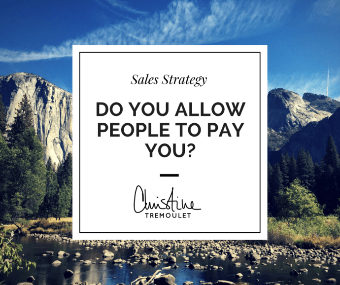 Do You Allow People to Pay You?