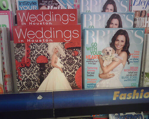 Weddings in Houston Magazine!
