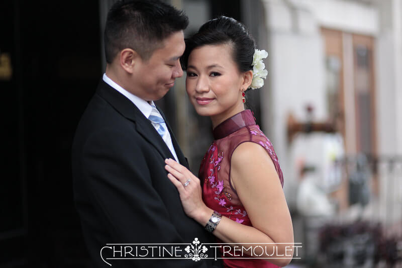 Sam & Ben Day After Session Chinese wedding dress Houston Texas