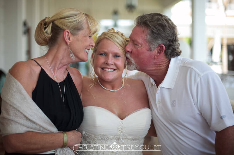 Lynsey with her Parents