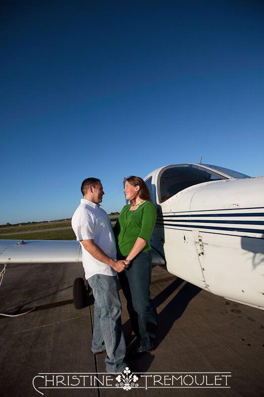 Sarah & Jose and big blue sky