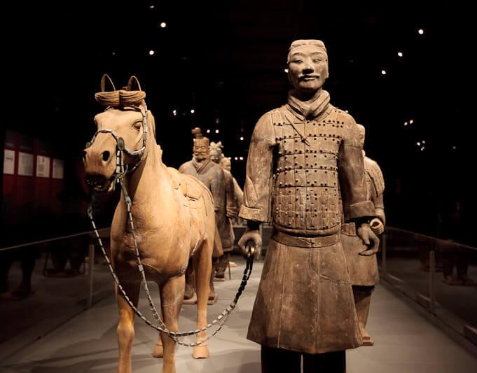 Terra Cotta Warrior Exhibit