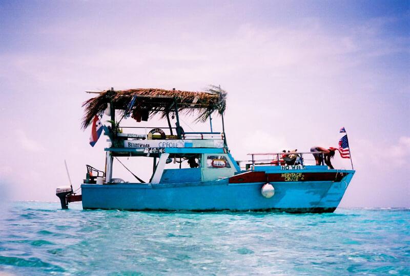 Ras Creek's Boat - Photo by Elaine