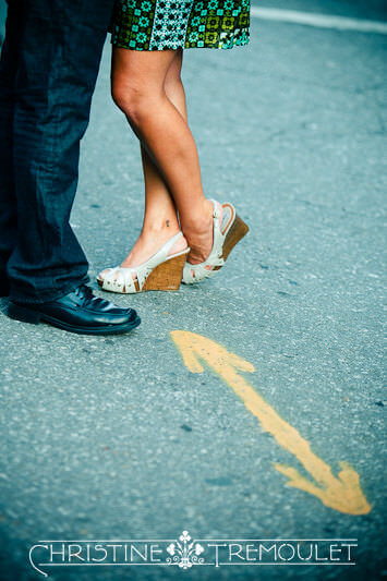 Nancy's Shoes - Couples Photography in New Orleans, LA