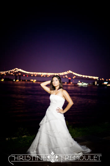 Lynette in the French Quarter New Orleans Bridal Session