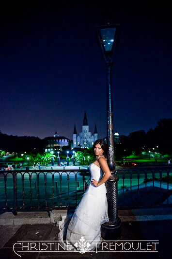 Lynette in front of the St Louis Cathedral in New Orleans LA