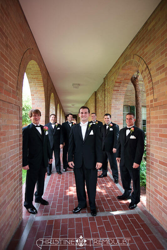 The Groom & Groomsmen