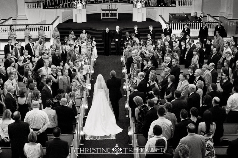 Second Baptist Houston - Kari & Her Father Walk Down the Aisle