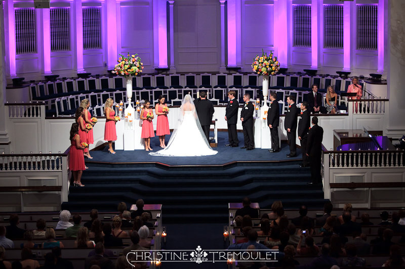 Houston Second Baptist Church Wedding
