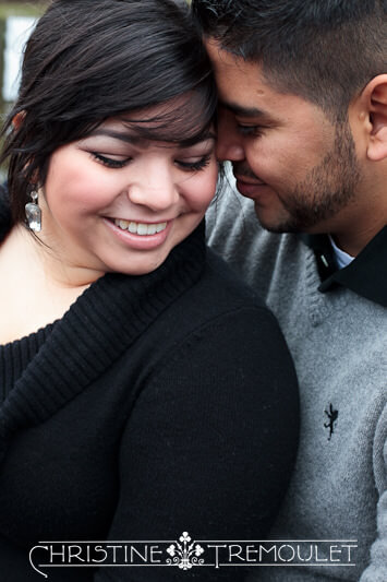 Tiffany & Romeo Love - Engagement Photography Houston