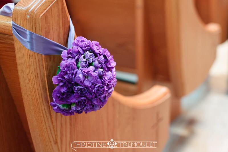 Pew Decorations Houston Wedding Photography