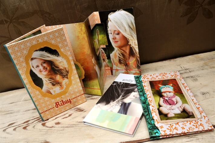 Portfolio Booklets from Hot Mama Boudoir