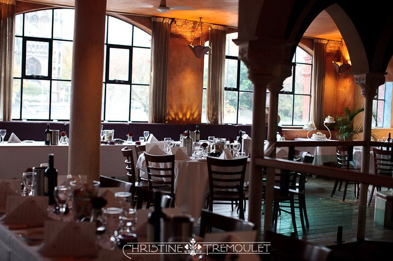 Byzantium Wedding Reception - Main room upstairs