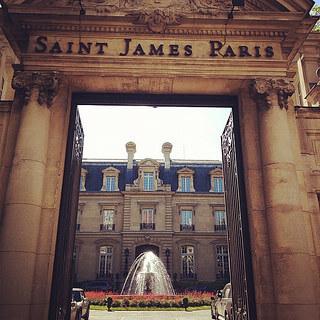 Boudoir Photography Paris - Saint James Hotel Paris, France