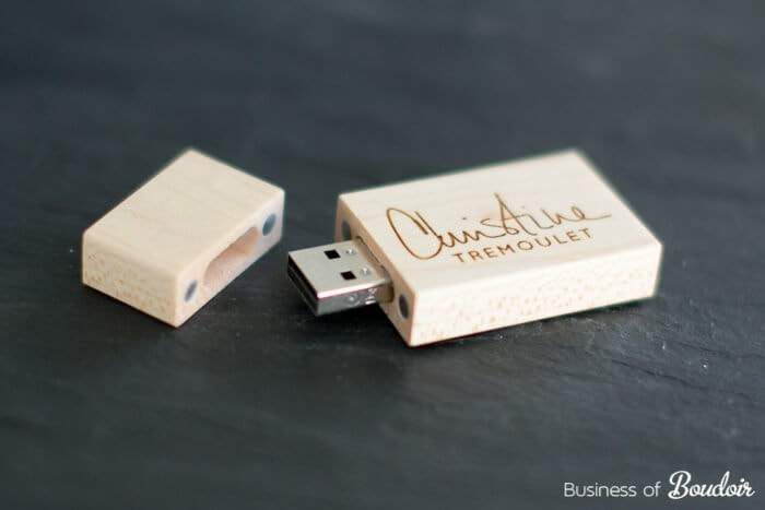 Custom USB Flash Drives for photographers from Pexagon Review