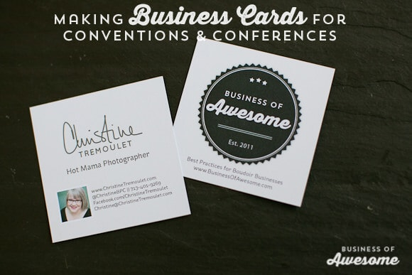 Business Cards for Conventions and Conferences