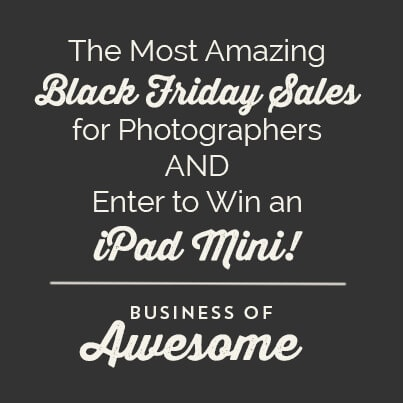 Black Friday Sales 2013 for Photographers - Business of Awesome