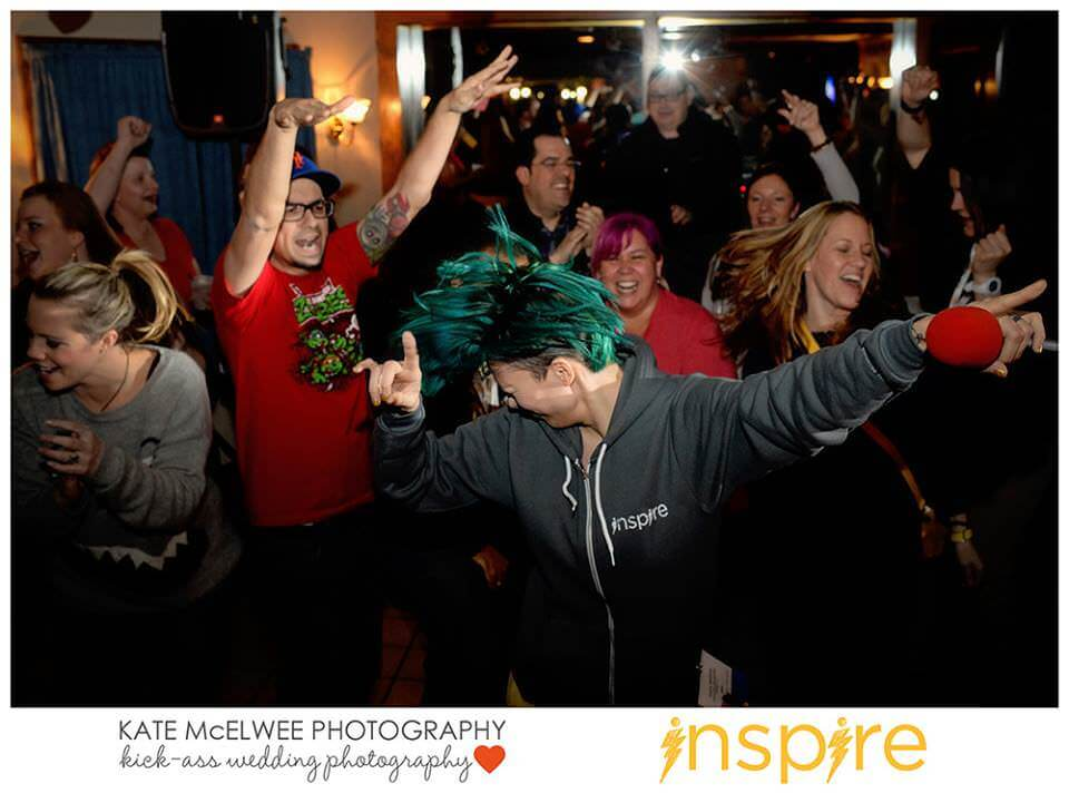 Dancing at Inspire, 2014
