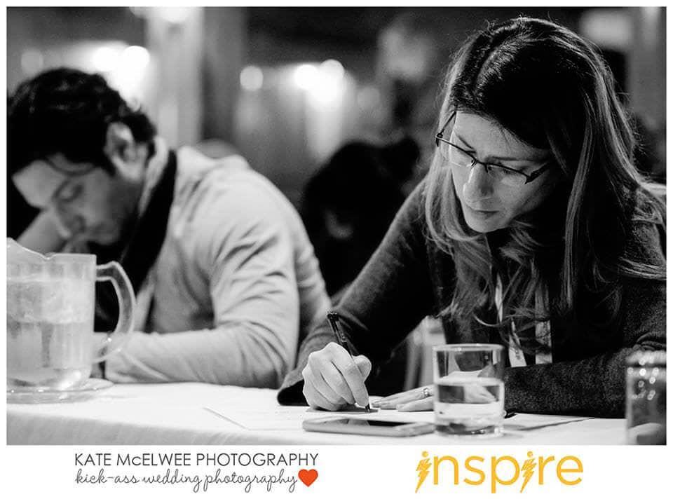 Thomas Flint at the Vivid & Brave Inspire 2014 Workshop