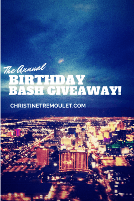 The Annual Birthday Bash Giveaway - she is giving away some GREAT prizes & discount codes!