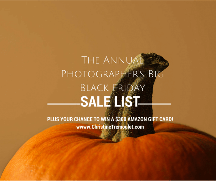 The Annual BIG Black Friday List For Photographers – 2014!
