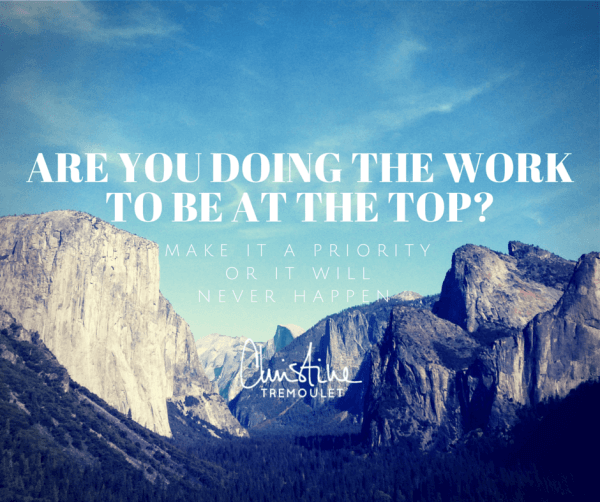 Are You Doing the Work to Be at the Top? To Rank High on Google?