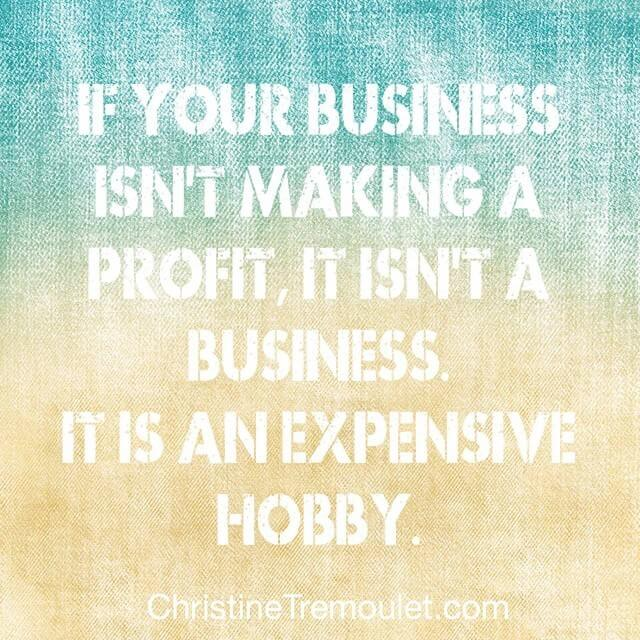 Is Your Business Making a Profit, or is it Just an Expensive Hobby?