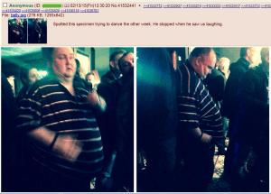 Dancing Man and body-shaming