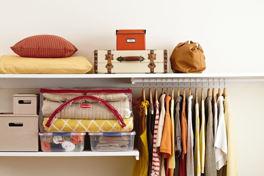 Cohesive Closet - from Rubbermaid