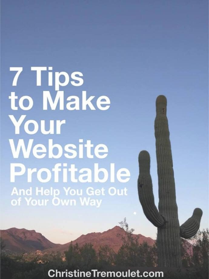 7 Tips to Make Your Website Profitable
