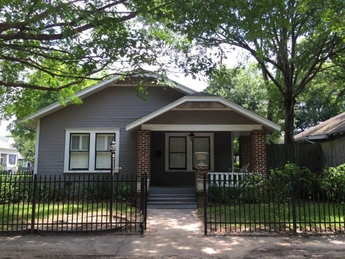 Our house in the Heights - Houston, Texas