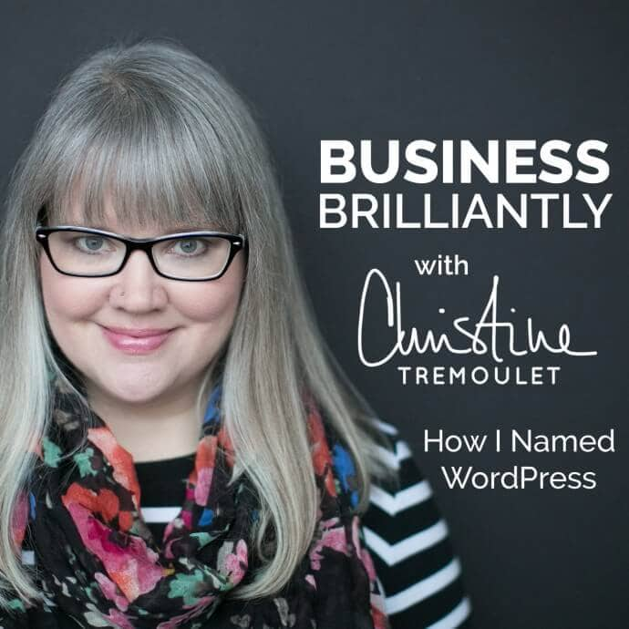 Business, Brilliantly Episode 2 – How I Named WordPress, the Untold Story