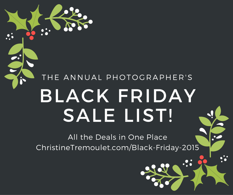 Black Friday Sale List