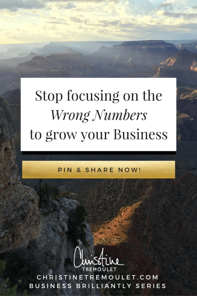 Stop focusing on the wrong numbers to grow your business