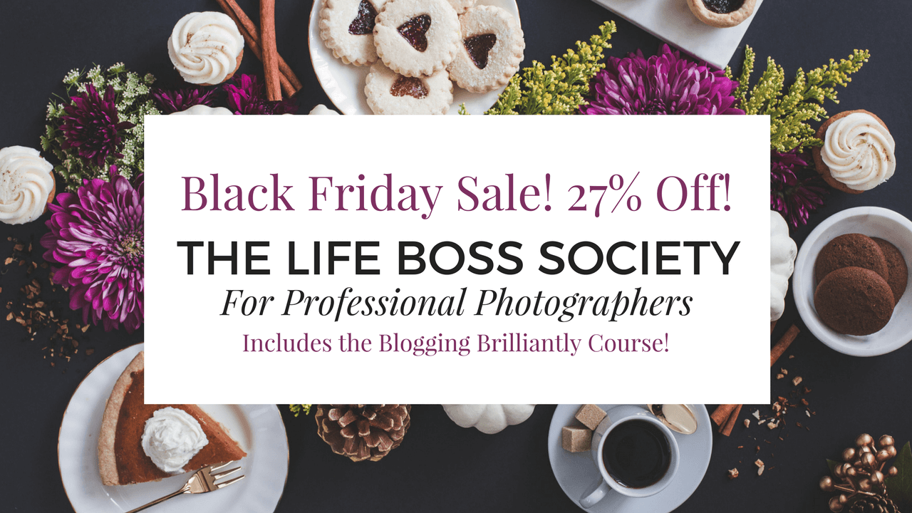 The Life Boss Society Black Friday Sale!