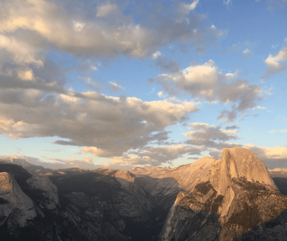 Finding Your Own Way to Success / Sunset on Half Dome