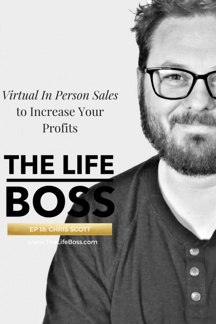 Episode 18 - In Person Sales with Chris Scott